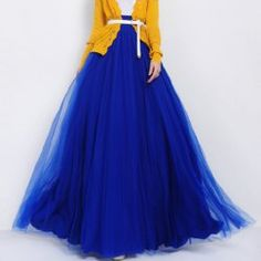 Stylish Solid Color High-Waisted Floor-Length Skirt For Women