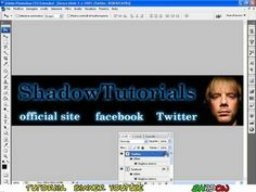 Tutorial Photoshop CS3 - How to create a banner in few minutes - YouTube