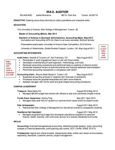 Night Auditor Resume Cover Letter For Fresh Graduate Auditor Contoh Application Format