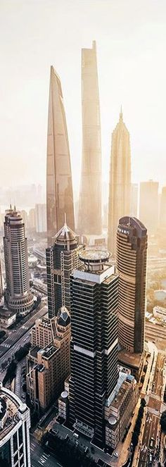 New Shanghai central business district
