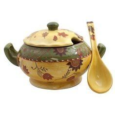 American Atelier Bohemian Autumn Soup Tureen with Ladle by American Atelier, http://www.amazon.com/dp/B003VZXKPI/ref=cm_sw_r_pi_dp_4Mnsqb0YGBG0E