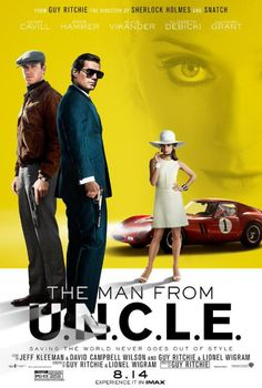 'THE MAN FROM U.N.C.L.E.' opening in theaters 08/14/15. Use the link to visit the website and see trailer!