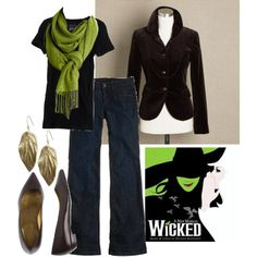 love this Wicked inspired outfit.