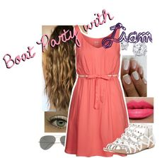 """Boat Party with Liam"" by jessie-horan ❤ liked on Polyvore"