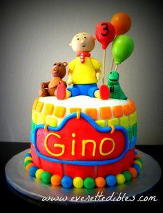 Calliou Birthday Cake | Flickr - Photo Sharing!