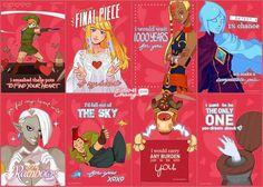 Happy Zelda Valentines' Day~ by finni on DeviantArt Zelda Skyward, Skyward Sword, Link Zelda, Master Sword, Final Fantasy Vii, Indie Games, Legend Of Zelda, Best Games, Dreaming Of You