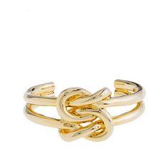 §ShopStyle: J.CrewKnot bracelet