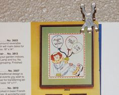 Crewel Embroidery Birth Record Artcraft Concepts Clown Sampler #3602 1981 #ArtcraftConcepts #Sampler