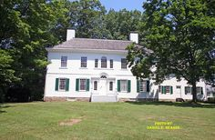George Washington's headquarters in Morristown NJ