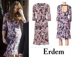 March 2, 2015 - Erdem Darla Dress (£995).