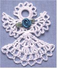 Picture of Thread Ornament Set 1 Crochet Pattern