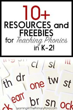This post has links to my main phonics posts, and I also indicated which posts have freebies. This may be a post you want to pin for later, too! Phonics Lessons, Phonics Words, Teaching Phonics, Phonics Activities, Cvc Words, Student Teaching, Phonics Centers, Phonics Worksheets, Learning Activities