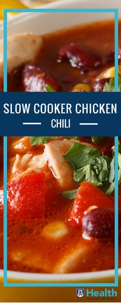 Need a dinner that makes itself? Try this Ready and Waiting Slow Cooker Chicken Chili.