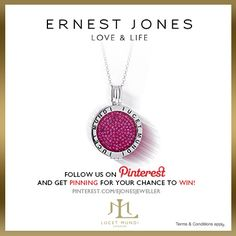 Sunday 9th June 2013 - One winner will be drawn on June 10th 2013. Your Facebook or Twitter account MUST BE linked to your Pinterest profile! Terms and conditions: http://www.ernestjones.co.uk/webstore/static/customerservice/terms_and_conditions.do#pinit