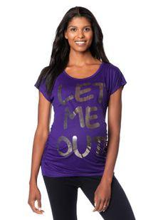 Motherhood Maternity Let Me Out Maternity T Shirt