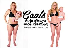 Every mommy should see this! Great blueprint for getting a Bikini Body after having kids ...