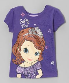Take a look at this Purple Sophia the First Tee - Toddler   Girls by Sofia  the First on today! 5a60ecdd9