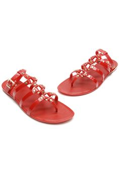 Jellies from your childhood with a modern gladiator twist (US size 8)