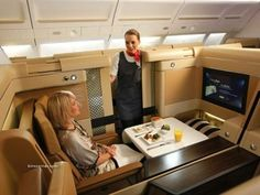 Best First Class seats of some Airlines
