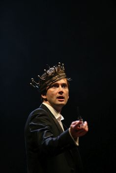 David Tennant as Hamlet.  One of my favorite performances.