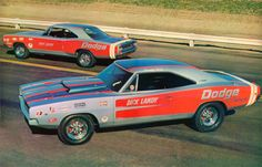 Dick Landy Dodge 68 Charger and coronet