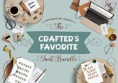 The Crafter's Favorite Font Bundle | Font Bundles