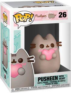 Pusheen: with Heart 26 44529 In stock Anime Pop Figures, Pop Vinyl Figures, Pop Figurine, Figurines Funko Pop, Funk Pop, Pusheen Cute, Funko Pop Anime, Funko Pop Dolls, Pinturas Disney