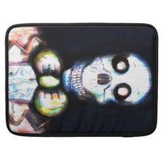 MacBook sleeve. Original Bearmunk Artwork. MacBook Pro Sleeve - gift for him present idea cyo design