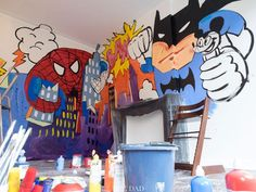 Creating a Superhero little boy's room with Stokke Tripp Trapp