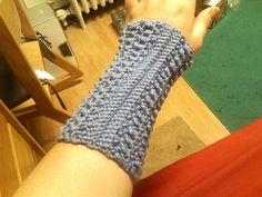 Ravelry: Arm Warmer or Textured Fingerless Gloves free  pattern by Sandi Marshall