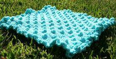 Daisy Cottage Designs: Polka Dots & Frills: Free Crochet Blanket Pattern