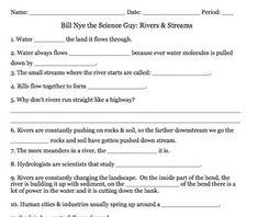 Bill Nye Climate Video Guide Sheet | Bill Nye | Bill nye ...