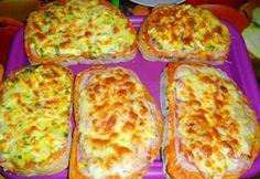 Tojásos-sonkás melegszendvics