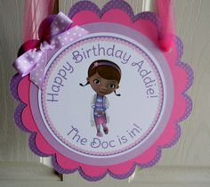 Doc McStuffins Birthday Party Door Sign by sweetheartpartyshop Ava LOVES doc! Doc Mcstuffins Birthday Party, 3rd Birthday Parties, 2nd Birthday, Birthday Ideas, Baby Girl Birthday, Daughter Birthday, Doctor Party, Holiday Parties, Party Planning