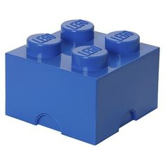LEGO Storage Brick 4 Blue (848442025102) The lego storage brick 4 - blue provides an interesting angle on tidying up - it is like playing. You can actually stack the storage boxes like you are used to with the original lego bricks. It offers you a new an exciting way of interior decorating as well as the practical purpose of keeping everything tidy. Gather all your regular lego bricks in this bigger storage brick and make it a more playful way of tidying up. The lego bricks come in classic…