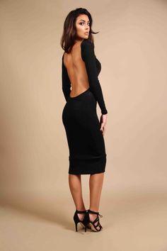 Aaliyah Midi Dress £155    #fashion #midi #aw16  #winterfashion #rr #rebeccarhoades  http://www.rebeccarhoades.com/product/aaliyah-midi-dress/