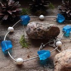 Купить Сотуар с жемчугом и кварцем Лесной ручей - сотуар из жемчуга, сотуар из камней, сотуар длинный