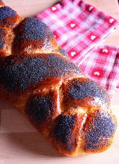 CHALLAH - Traditional Jewish braided bread