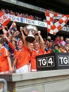 Armagh Ladies, All Ireland Champions 2012.