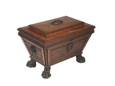 Fine Regency mahogany wine cellaret, of sarcophagus form, - Miller's Antiques & Collectables