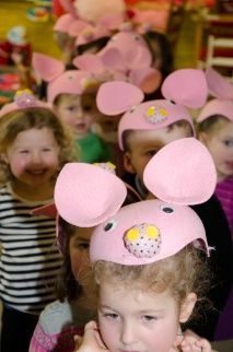 """Pre-School and Junior Kindergarten students took us """"Down on the Farm"""" for a spectacular presentation of the skills they learned in their Creative Movement class. The Piglets, Ponies, Alpacas, and Sheep all delighted the audience with songs and dance."""