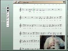 Let it Go on Recorder (from Frozen) - YouTube Very cool, shows music, fingerings, and pitches all listed.