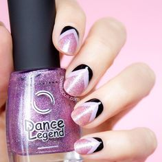 This #DanceLegend beauty! Manicure details and a quick how to - on SoNailicious.com now ✔