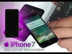 iPhone 7 LCD & Digitizer Replacement Full Tutorial / Wymiana wyświetlacz... Iphone Repair, Diy Electronics, Iphone Models, Iphone 7, Cool Stuff, Cool Things, Iphone Seven