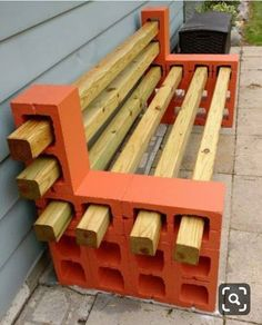 and reduce: decorate with cement blocks - Ann Ford - Diy reuse and reduce: decorate with cement blocks - Ann Ford - Diy Cinder Block Ideas 12 - decoratoo 24 Simple and Cheap Fire Pit and Backyard Landscaping Ideas Cinder Block Furniture, Pallet Garden Furniture, Furniture Ideas, Wood Furniture, Cinder Blocks, Cinder Block Bench, Garden Pallet, Pallet Garden Projects, Diy Patio Furniture Cheap