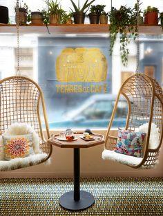Terre de café - pour le petit café du matin - 40 rue des Blancs Manteaux - Paris…