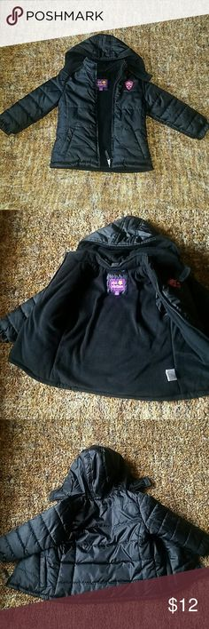 Black kids jacket practically new, very warm. Jackets & Coats Puffers