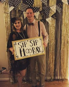 Stock the bar shower. Bridal Shower Decorations, Gatsby Decorations, Couples Shower Themes, Roaring 20s Party, Bridesmaid Duties, Great Gatsby Party, Couple Shower, Housewarming Party, Party Planning