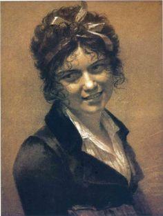 Portrait of Constance Mayer - Pierre-Paul Prud'hon 1804