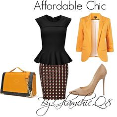 """Working Girl"" by glamchicq8 on Polyvore"